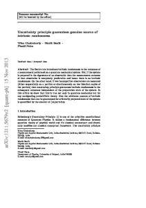 arxiv: v2 [quant-ph] 15 Nov 2013