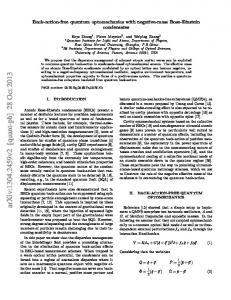arxiv: v2 [quant-ph] 28 Oct 2013