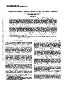 arxiv: v3 [astro-ph.ga] 5 Sep 2012