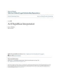 As-If-Republican Interpretation