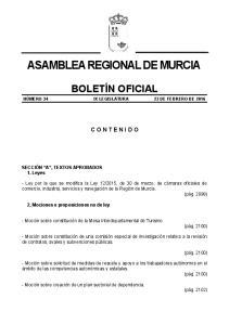 ASAMBLEA REGIONAL DE MURCIA