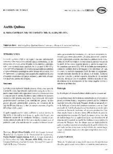 Ascitis Quilosa R. MESA-CASTILLO, MD; V.P. CASTAÑO, MD.; R. ALBIS, MD. SCC. INTRODUCCION CASO CLINICO