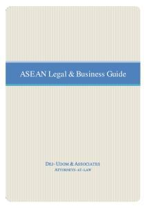ASEAN Legal & Business Guide