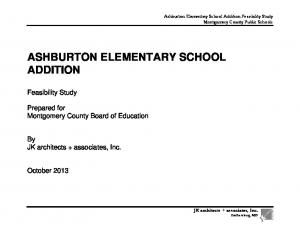 ASHBURTON ELEMENTARY SCHOOL ADDITION