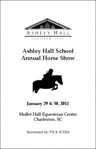 Ashley Hall School Annual Horse Show