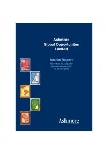 Ashmore Global Opportunites Limited