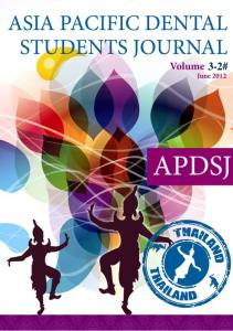 Asia Pacific Dental Students Journal Volume 3 Number 2 June #