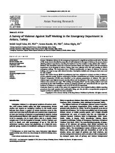 Asian Nursing Research