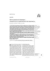 Asma durante el embarazo: mecanismos e implicaciones del tratamiento