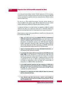 Aspectos clave del desarrollo comercial de Alcoi