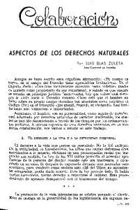 ASPECTOS DE LOS DERECHOS