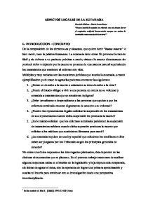 ASPECTOS LEGALES DE LA EUTANASIA