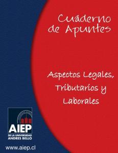 Aspectos Legales, Tributarios y Laborales