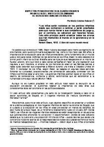 ASPECTOS PEDAGOGICOS EN ALGUNOS HOGARES INFANTILES DEL INSTITUTO COLOMBIANO DE BIENESTAR FAMILIAR EN BOGOTA