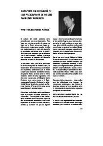 ASPECTOS TRIBUTARIOS DE LOS PROGRAMAS DE MEDIO AMBIENTE MINEROS