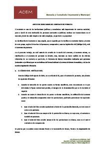 ASPECTOS TRIBUTARIOS DEL CONTRATO DE PERMUTA