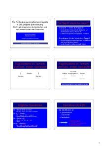 Aspektsysteme im Tschech. und Russ.: morph. Operatoren. Aspektsysteme im Tschech. und Russ.: morph. Operatoren. Operatoren [A] & [B]
