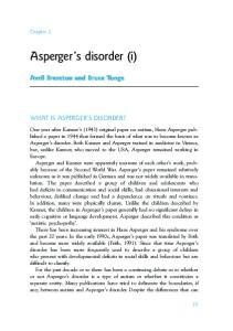 Asperger s disorder (i)