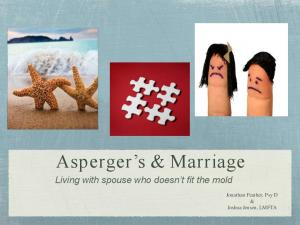 Asperger s & Marriage