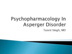 Asperger syndrome or Asperger's syndrome or Asperger disorder is an autism spectrum disorder that is characterized by significant difficulties in