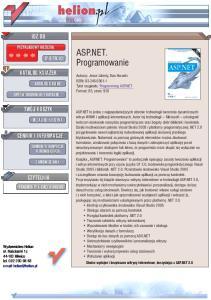 ASP.NET. Programowanie