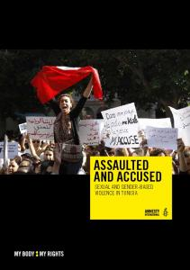 ASSAULTED AND ACCUSED SEXUAL AND GENDER-BASED VIOLENCE IN TUNISIA