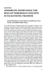 ASSEMBLING KNOWLEDGE: THE ROLE OF THRESHOLD CONCEPTS IN FACILITATING TRANSFER