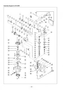Assembly Diagram for DH 25PB