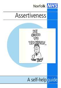 Assertiveness. A self-help guide