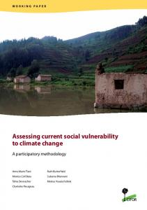 Assessing current social vulnerability to climate change