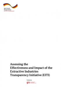 Assessing the Effectiveness and Impact of the Extractive Industries Transparency Initiative (EITI)