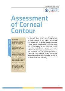 Assessment of Corneal Contour