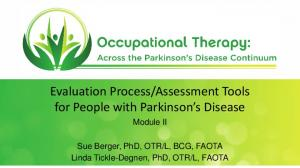 Assessment Tools for People with Parkinson s Disease