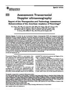 Assessment: Transcranial Doppler ultrasonography