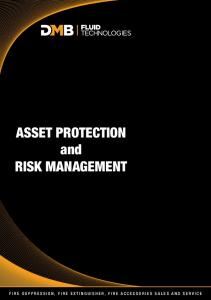 ASSET PROTECTION and RISK MANAGEMENT