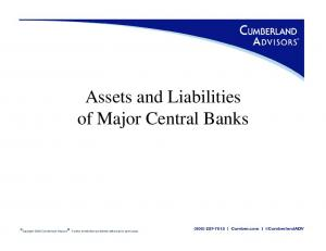 Assets and Liabilities of Major Central Banks
