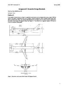 Assignment 5: Geometric Design Standards