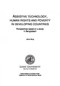 ASSISTIVE TECHNOLOGY,