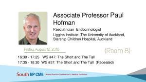 Associate Professor Paul Hofman