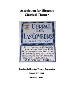 Association for Hispanic Classical Theater