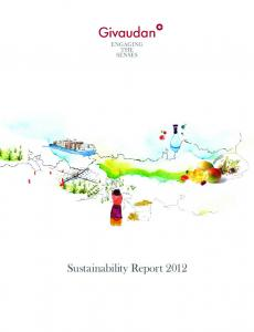 Assurance. Sustainability Report 2012