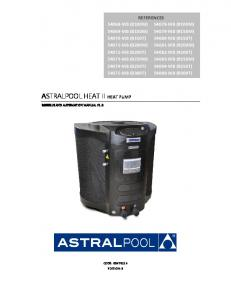 ASTRALPOOL HEAT II HEAT PUMP