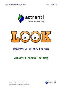 Astranti Financial Training