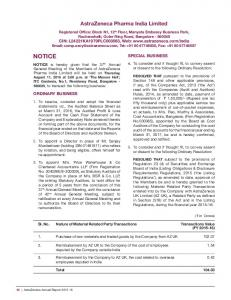 AstraZeneca Pharma India Limited