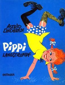 ASTRID LINDGREN. Pippi Langstrumpf. mit Bildern von Rolf Rettich