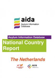 Asylum Information Database. National Country Report. The Netherlands
