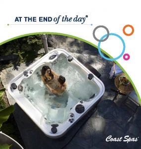 at coast spas... Step into a Coast Spa and you will feel the difference