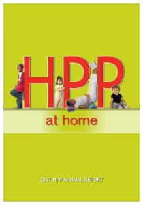 at home 2007 HPP ANNUAL REPORT