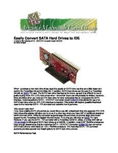 ATAPI Converter model ADSAIDE. By Arthur Whalem
