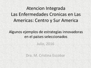 Atencion Integrada Las Enfermedades Cronicas en Las Americas: Centro y Sur America